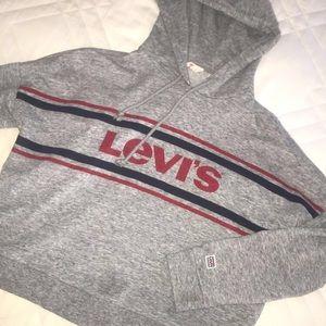 Levi's grey hoodie